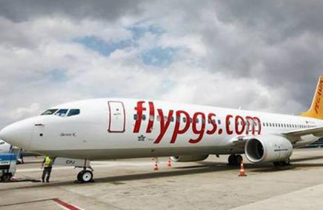 Загрузка самолетов Pegasus на рейсах в Москву достигла 92%