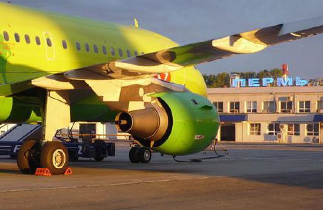 Аэровокзал Большое Савино расширят за счет временной постройки