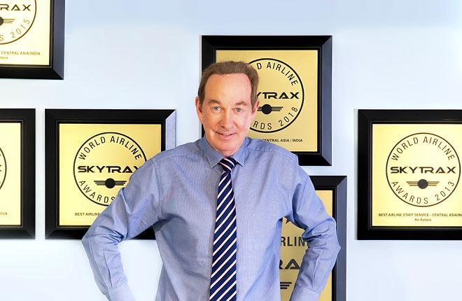 Питер Фостер, глава  Air Astana