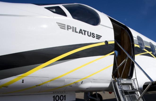 Pilatus планирует представить программу нового самолета