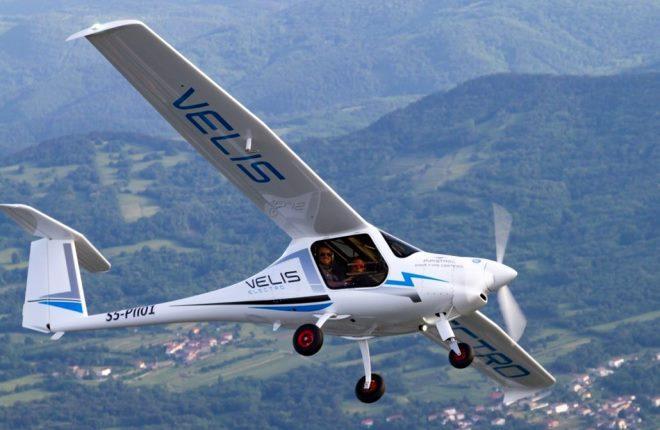Pipistrel Velis Electro представляет собойлегкийдвухместный самолет