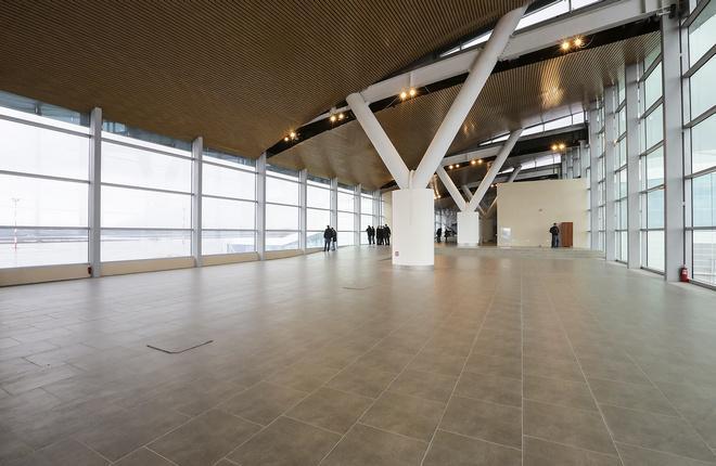 Терминал в ростовском аэропорту Платов