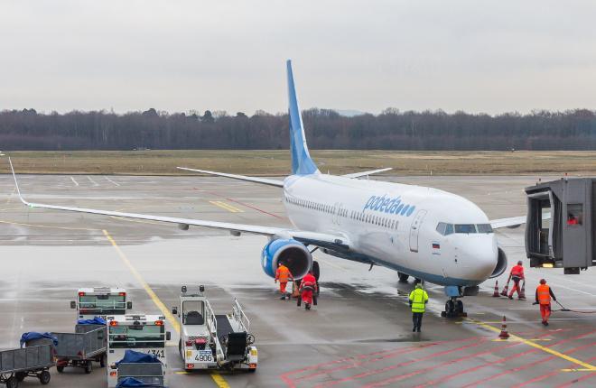"Самолет Boeing 737 авиакомпании ""Победа"""