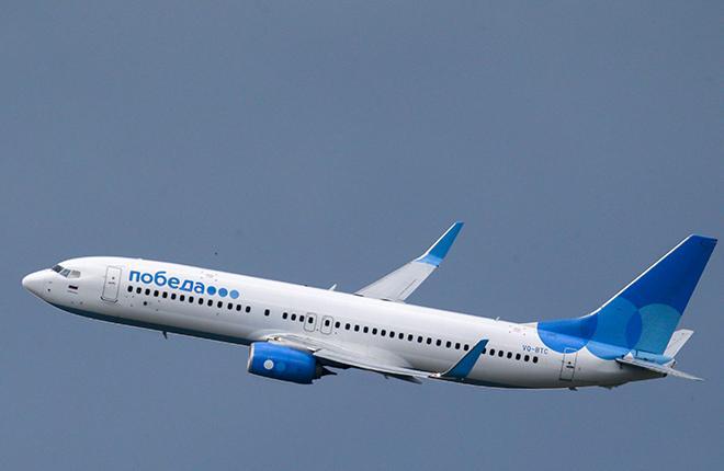 "До конца 2019 года ""Победа"" получит 18 самолетов Boeing 737-800"