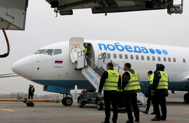 """авиакомпания """"Победа"""" в аэропорту Храброво"""