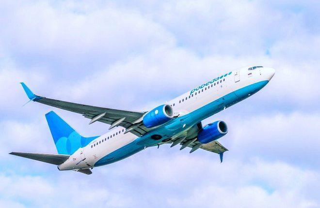 """самолет 737-800 авиакомпании """"Победа"""""""