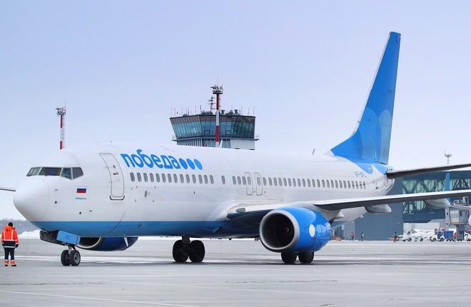 самолет 737-800 лоукостера Победа