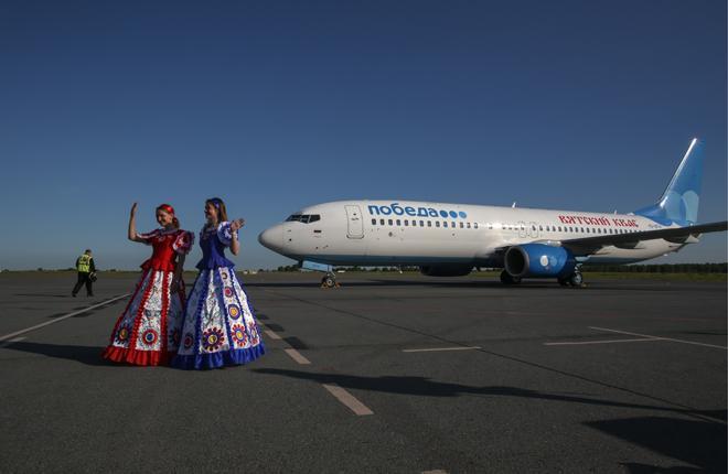 """Oсновной договор на ТО авиакомпания """"Победа"""" заключила с VTS еще до начала выполнения регулярных рейсов :: Леонид Фаерберг / Transport-Photo.com"""