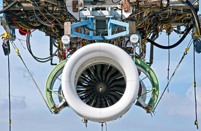 двигатель Pratt & Whitney PW1200G для самолета Mitsubishi Regional Jet