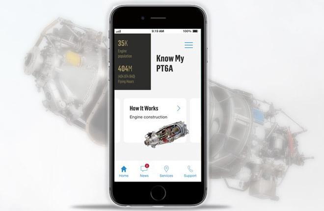 Pratt & Whitney PT6 app