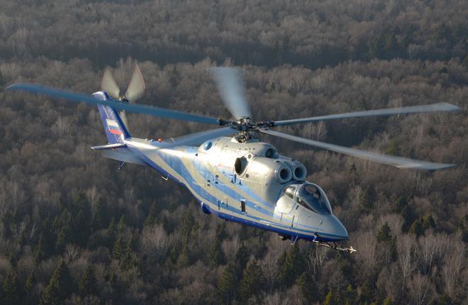 В России начались испытания перспективного скоростного вертолета