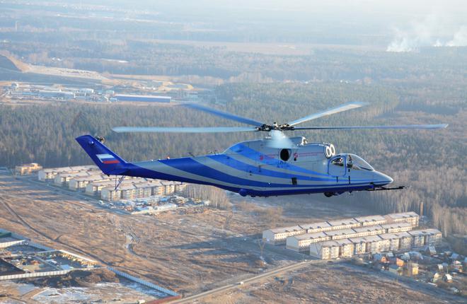 Перспективный скоростной вертолет разгонят до 450 километров в час