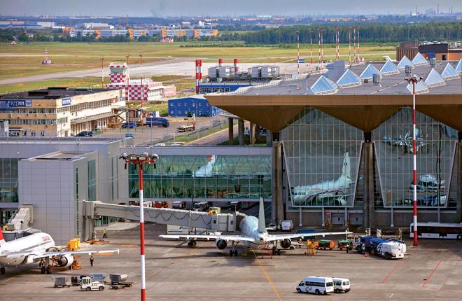 Эволюция аэропорта Пулково