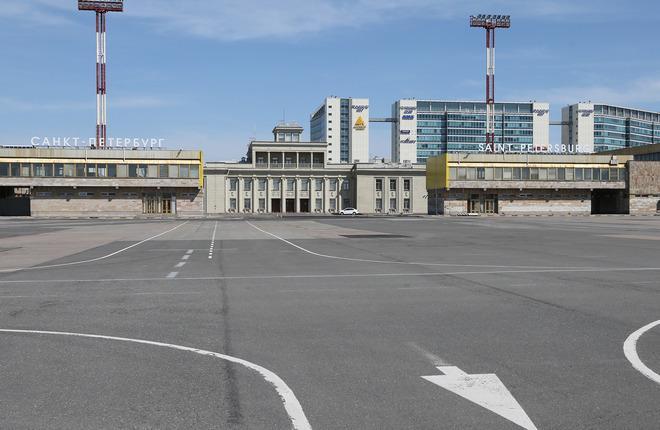 Старый терминал в аэропорту Пулково