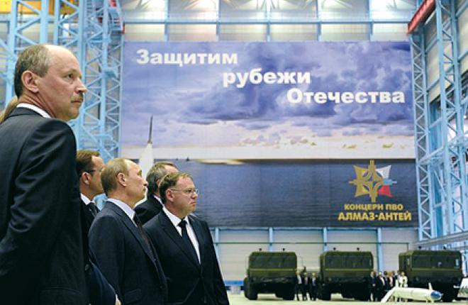 Президент России посетил объекты Северо-Западного регионального центра «Алмаз-Антей» в июне 2013 г.