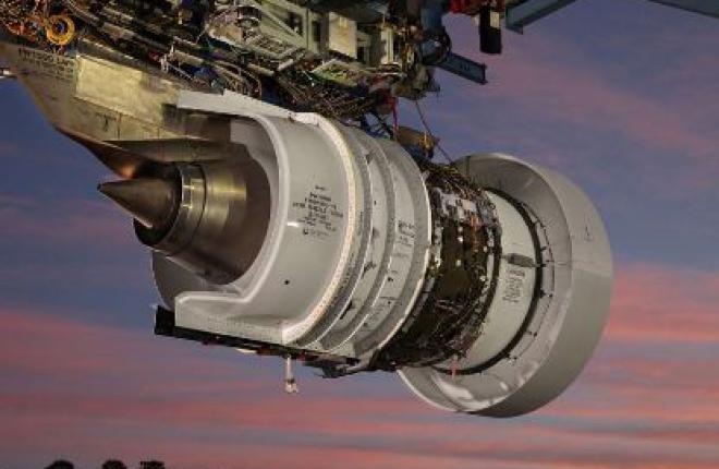 Pratt & Whitney завершила первый этап наземных испытаний двигателя PW1100G-JM