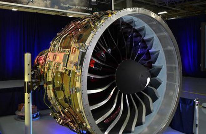 В США сертифицировали двигатели PW1100G для самолетов A320NEO