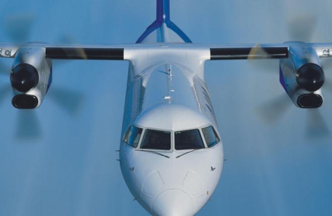 Самолет Bombardier Q400 получил сертификат типа АР МАК