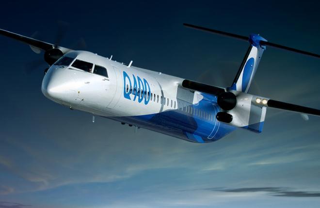 Самолет Bombradier Q400