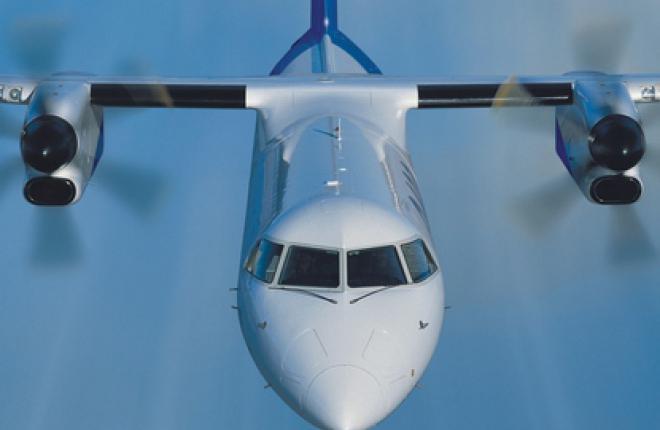 Самолет Bombardier Q400 получит сертификат АР МАК в мае 2012 года