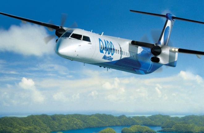 Bombardier показывает региональный самолет Q400 NextGen в России и СНГ