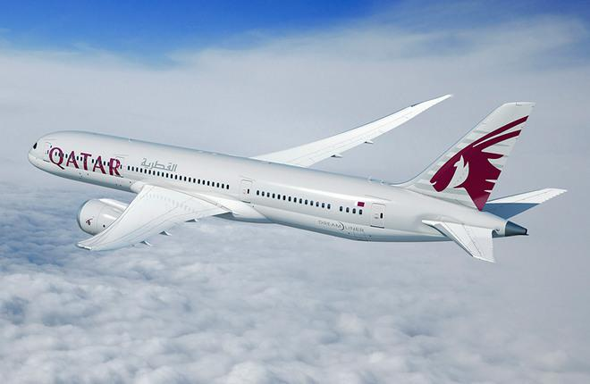 Boeing 787-9 Qatar Airways