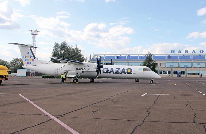 Онлайн-продажи в Qazaq Air