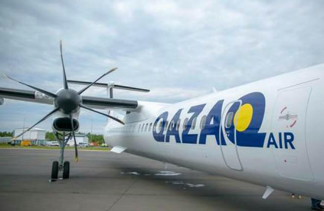 Qazaq Air пассажиропоток