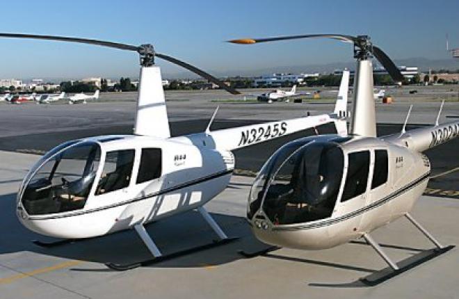 """Компания """"ЮТэйр-Инжиниринг"""" проводит первый капитальный ремонт вертолета Robinso"""