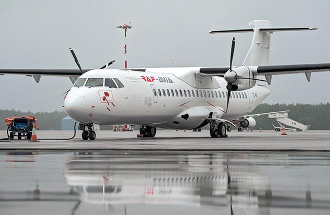 RAF-Аvia планирует заменить самолеты Ан-26 на ATR 72