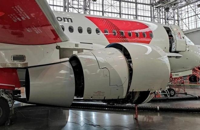 ТО формы A-Check на самолете ssj100 авиакомпании Red Wings