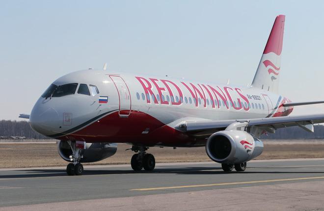 Red Wings приостановит коммерческую эксплуатацию SSJ 100