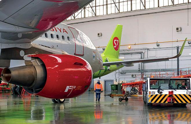 В случае  S7 Technics стороной, сдающей самолет, как правило выступает российская авиакомпания :: S7 Technics