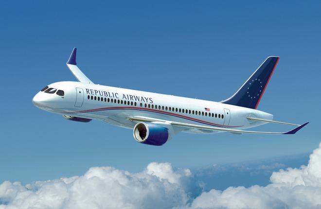 Republic Airways снизит расходы через банкротство