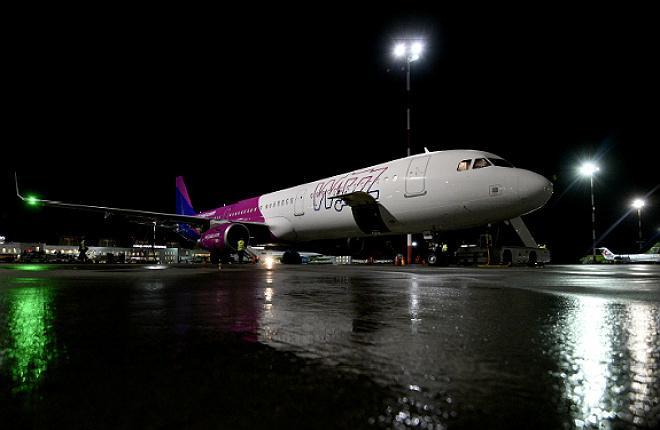 Wizz Air UK прилетела в Россию