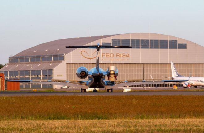FBO Riga деловая авиация Рига