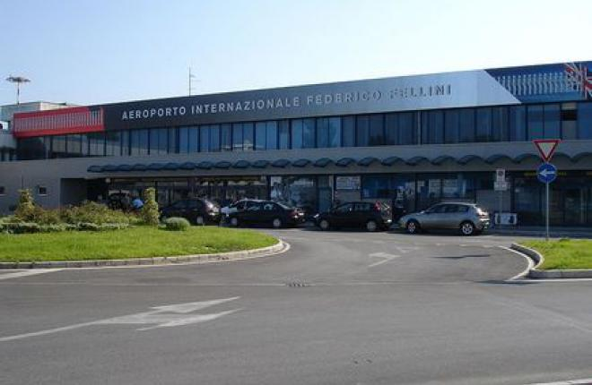 Аэропорт Римини приостановит работу