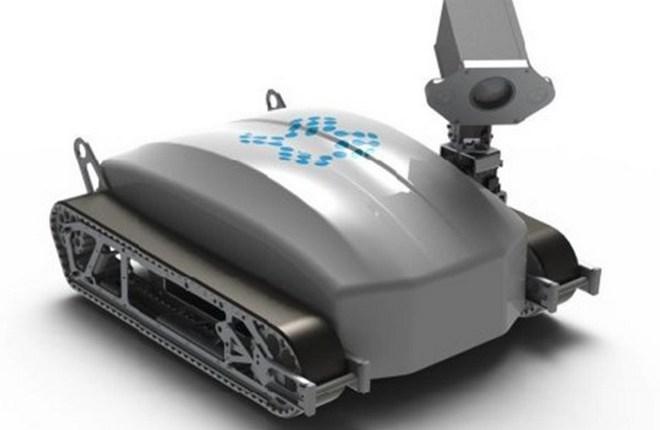 Робот для технического осмотра планера ВС
