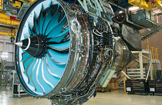 Композитные лопатки вентилятора с заостренными краями испытываются на демонстраторе ALPS, созданном на базе Trent 1000