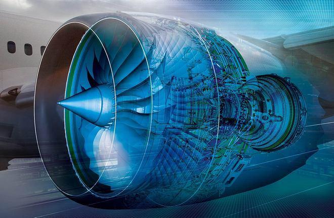 авиадвигатель Rolls-Royce