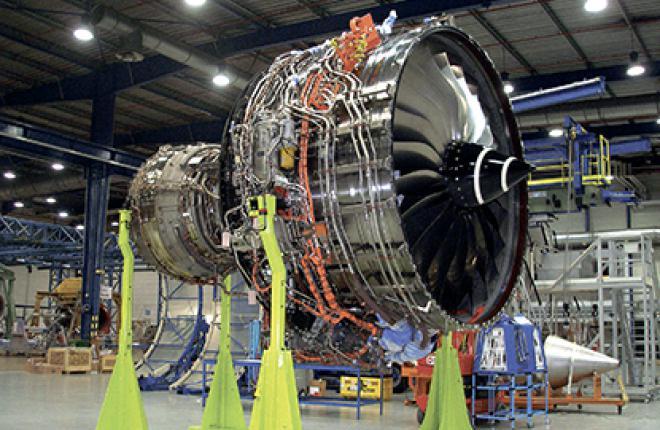 Первый летный образец двигателя Rolls-Royce Trent XWB-84 для самолета Airbus A35