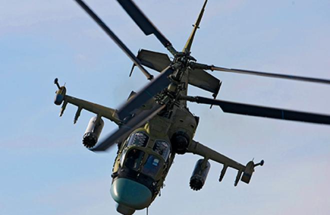В «Рособоронэкспорте» уверены в экспортном потенциале вертолета Ка-52