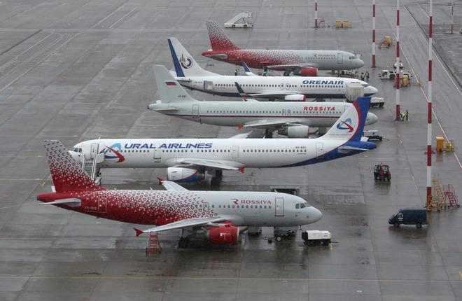 Самолеты российских авиакомпаний