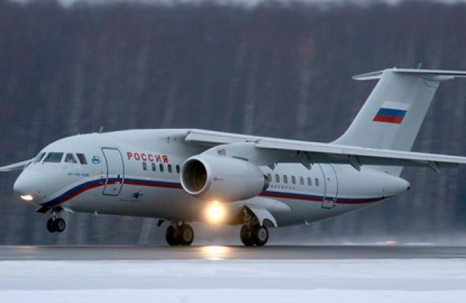 """Авиакомпания """"Россия"""" в 2012 году налетала на Ан-148 около 18,6 тыс часов"""
