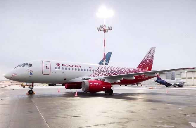 авиакомпания Россия Superjet 100