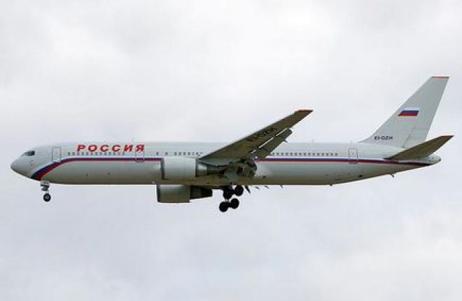 """Авиакомпания """"Россия"""" откажется от Boeing 767"""
