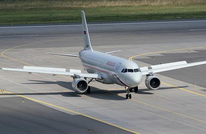 """Авиакомпания """"Россия"""" получила самолет Airbus A320"""