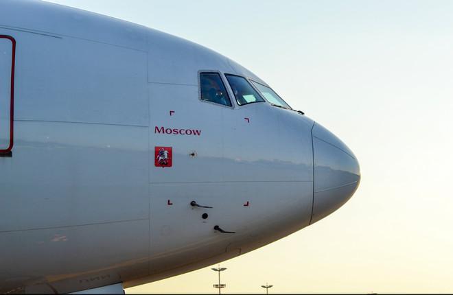 """Самолет Boeing 777 авиакомпании """"Россия"""""""