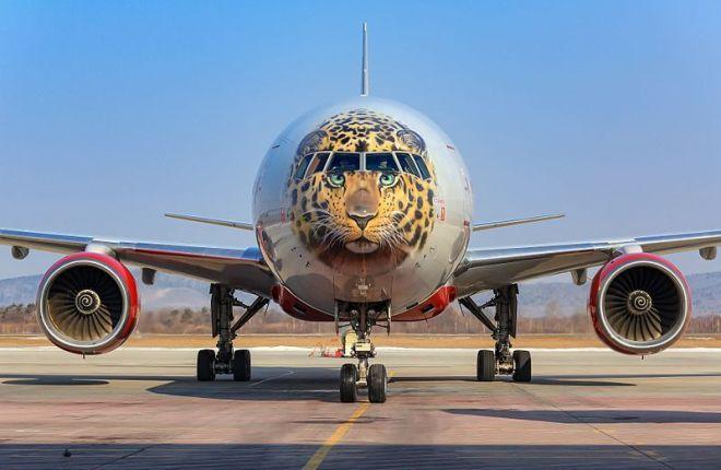 "Boeing 777-300 авиакомпании ""Россия"""