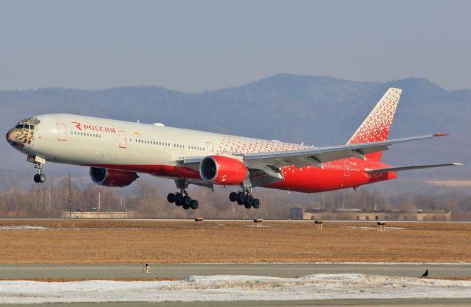 """Boeing 777 """"России"""""""